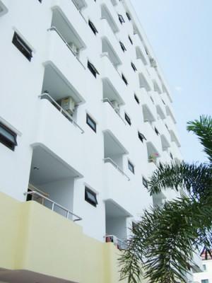 バンコクのアパート外観