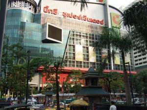 バンコクのショッピングセンター BIG-C