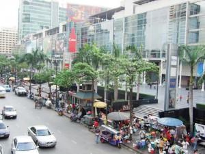バンコクのセントラルワールドデパート