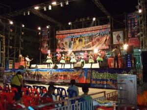 バンコクのステージフェスティバル