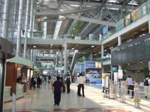 スワンナプーム国際空港ロビー