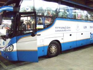 スワンナプーム国際空港のバス