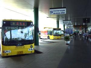 スワンナプーム国際空港バス乗り場