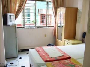 ゲストハウスの部屋