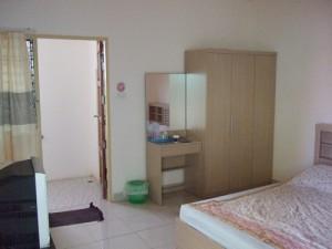 タイ・バンコクのアパートの部屋
