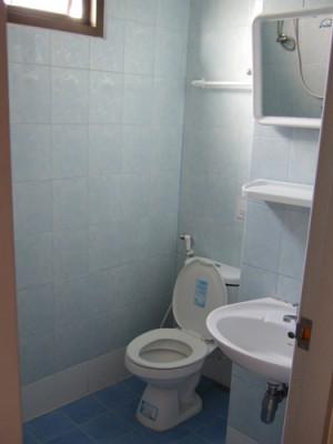タイのアパート 浴室