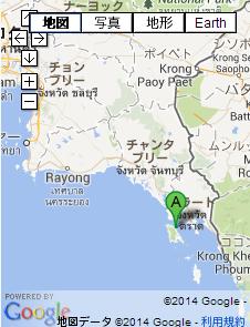 タイの地図 チャーン島