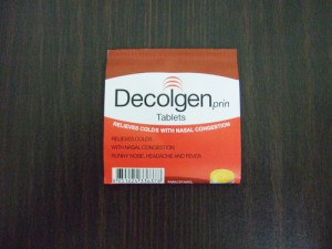 タイの薬 Decolgen