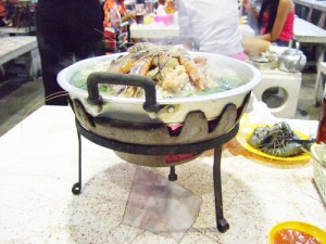 タイの料理 ムーガタ