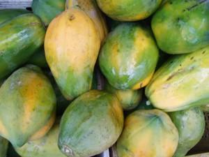 タイの果物 パパイヤ