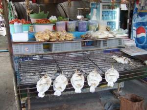 タイの屋台の様子