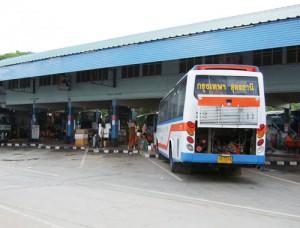 タイ ウドンタニのバスステーション