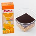バナナケーキとオレンジジュース/エアアジア