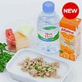 チキンライスとスープのセット/エアアジア