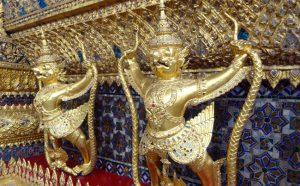 ワットプラケオ/エメラルド寺院のガルーダ像