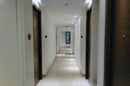 マーヴィン スイーツ ホテルの通路