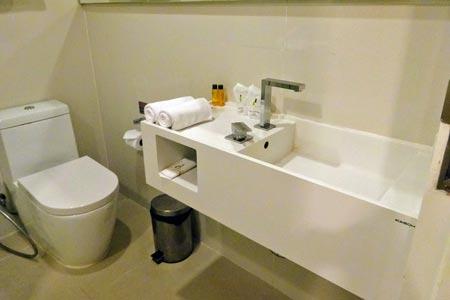 「マーヴィン スイーツ ホテル」トイレ