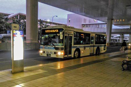 LCCターミナル行きの専用シャトルバス