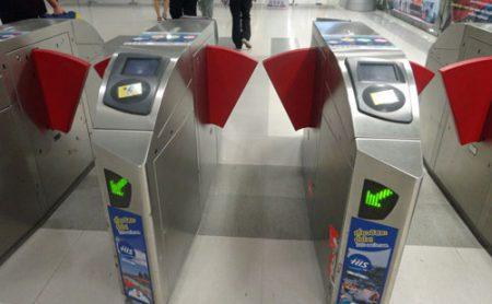 エアポートレールリンクの自動改札口