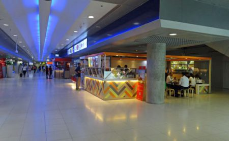 スワンナプーム国際空港地下階
