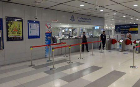 スワンナプーム国際空港駅改札口