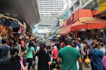 バンコクのマーケット