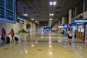 「ドンムアン空港」国際線第1ターミナル到着ロビー