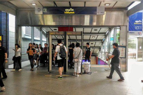 バンコクMRT地下鉄「スクンビット駅」